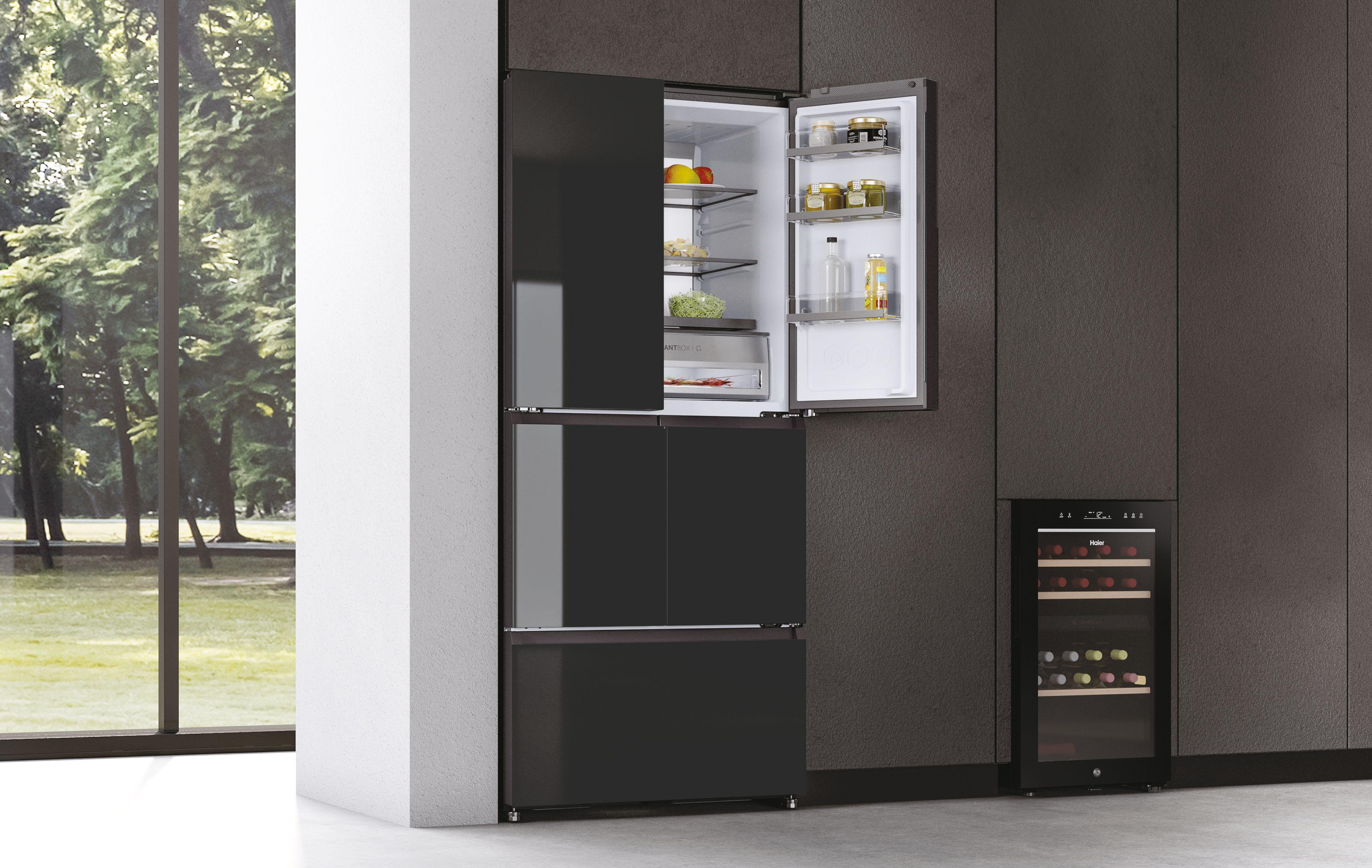 Haier lanza sus nuevos frigoríficos F+ capaces de eliminar el 99% de las bacterias