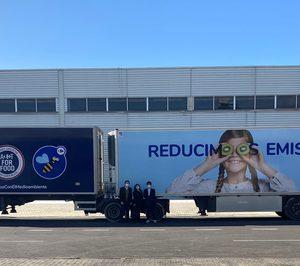 Carrefour y P&G reducirán al menos un 16% las emisiones de CO2 de sus operaciones conjuntas con dos megacamiones