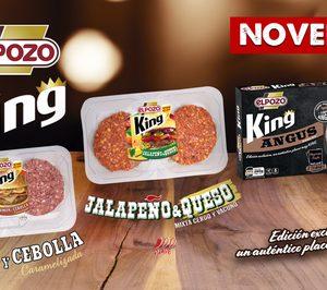 ElPozo King amplía su gama de burgers con tres nuevos sabores