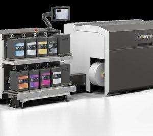 Bobst mejora su prensa digital de etiquetas Mouvent LB701-UV