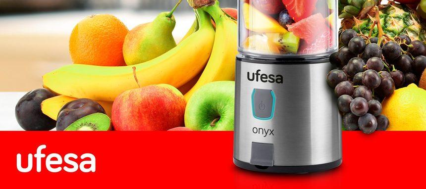 Ufesa presenta la batidora Onyx con batería y carga USB