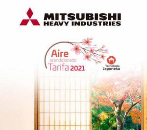 Nueva tarifa de Mitsubishi Heavy Industries para 2021