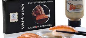 Ahumados Domínguez innova con su nuevo sashimi de salmón