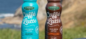 Cafés Baqué relanza sus cafés RTD, apostando por su conservación en ambiente