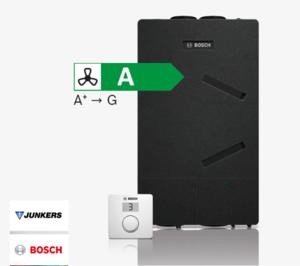 Junkers Bosch presenta su nueva gama de recuperadores de calor