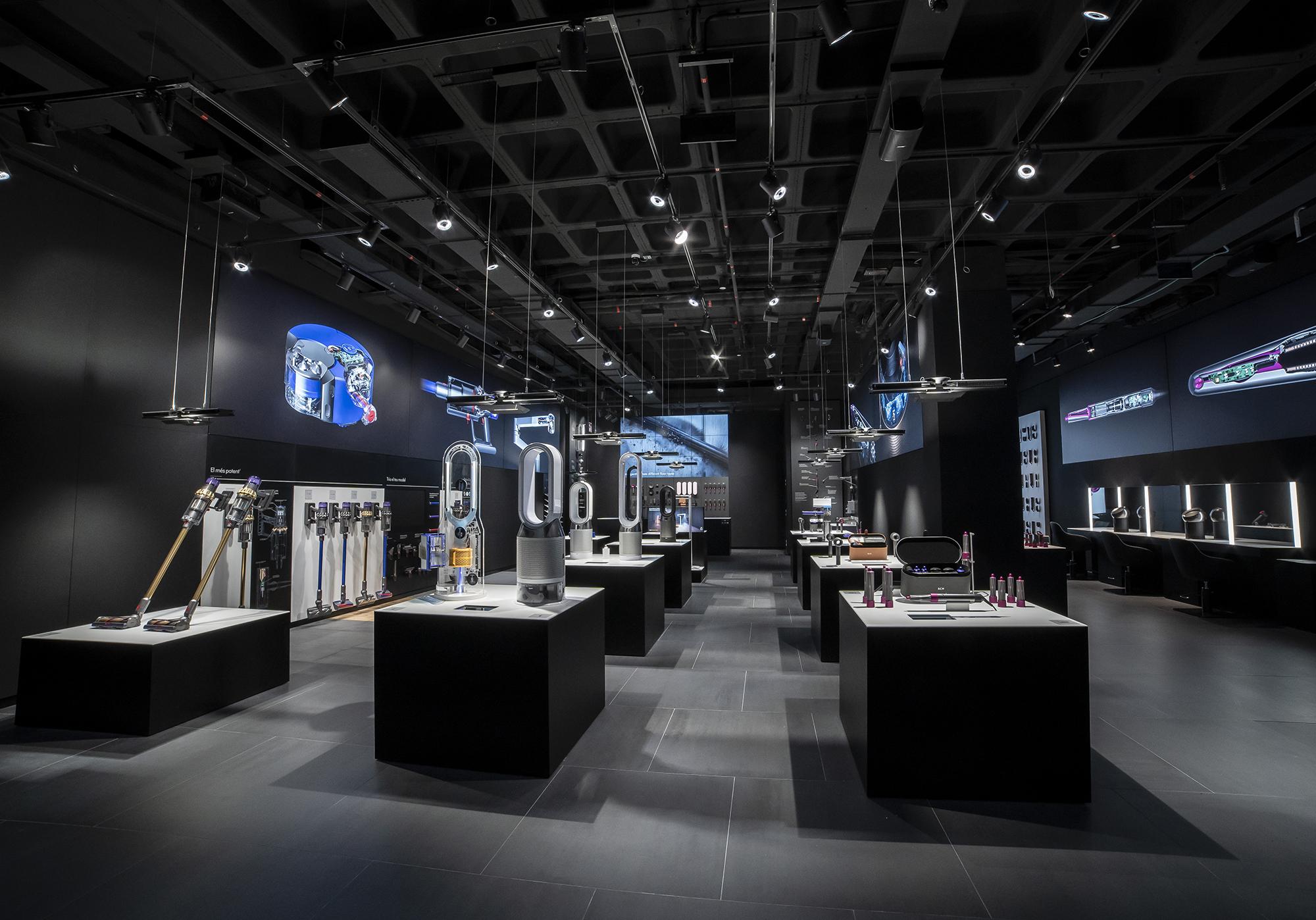 Dyson Demo Store: abre la primera tienda física en España