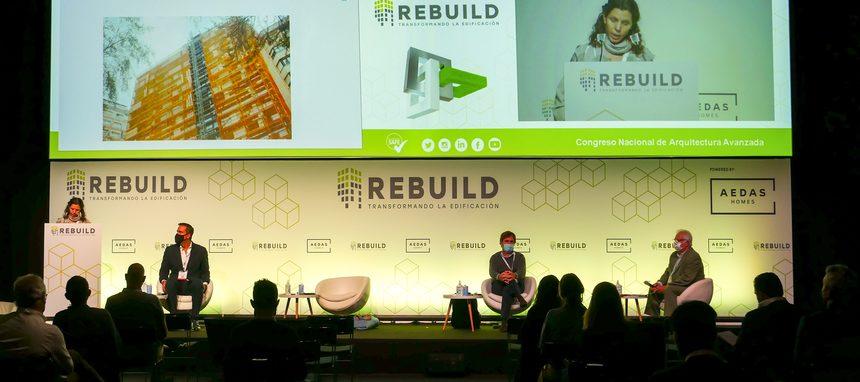 Rebuild y Madrid Capital Mundial de la Construcción, Ingeniería y Arquitectura unen fuerzas para potenciar el sector de la edificación en España