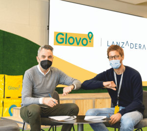 Glovo y Lanzadera se unen para impulsar el desarrollo de empresas en el ámbito de la restauración y el delivery
