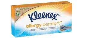 'Kleenex' lanza Allergy Comfort, una gama de pañuelos dirigida a los que sufren alergias