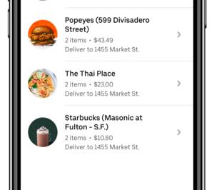 Uber Eats incorporará cuatro nuevas funcionalidades en España