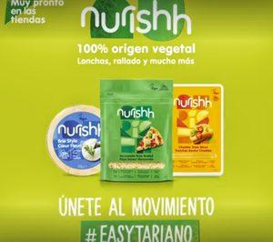 Grupo Bel aborda el segmentoplant-based con 'Nurishh'