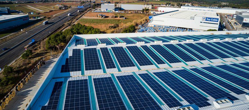 Top Cable apuesta por el autoconsumo solar en su fábrica de Barcelona