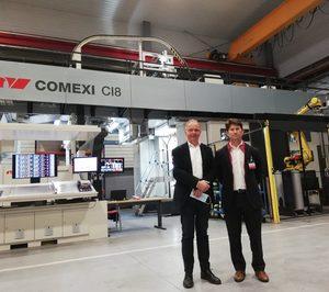 Jiménez Godoy refuerza su parque de impresión con un equipo offset de Comexi