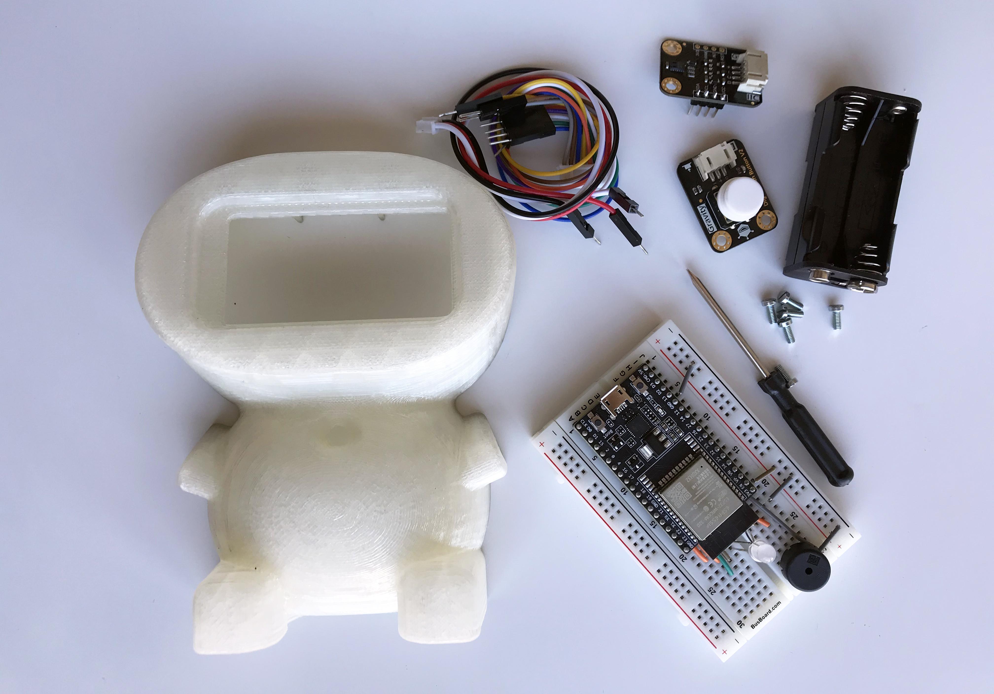vöbu, un mini-robot que detecta los niveles de contaminación invisible