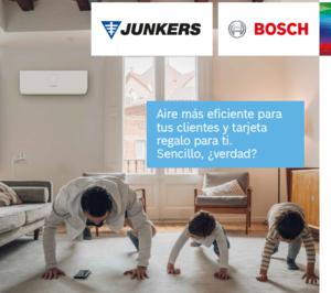 Junkers-Bosch lanza una nueva campaña de aire acondicionado durante el mes de mayo