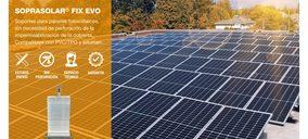 Soprema introduce en España su sistema de soportes para paneles fotovoltaicos