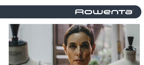 Rowenta ficha nueva embajadora para aspiración y planchado