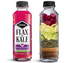 Flax & Kale escala posiciones en kombucha y suma nuevos puntos de distribución