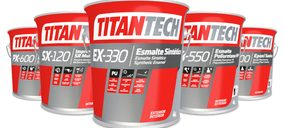 Titan lanza al mercado su nueva gama de pinturas industriales