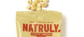 Natruly presenta un snack de queso