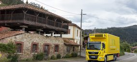 Alimerka incorpora a su flota de vehículos su primer camión eléctrico