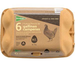 El Corte Inglés centraliza todo su catálogo de huevos en un único proveedor