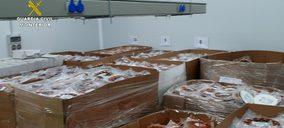 La Guardia Civil lleva a cabo dos operaciones contra el fraude de productos de cerdo ibérico