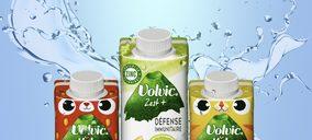 combismile de SIG entra en Francia con las nuevas aguas saborizadas Volvic de Danone