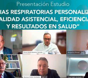 Un informe impulsado por Fenin apuesta por la personalización de las terapias respiratorias domiciliarias