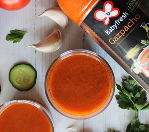 Primaflor inicia la promoción de su gazpacho y salmorejo