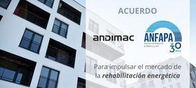 Andimac y Anfapa se alían para impulsar la rehabilitación energética
