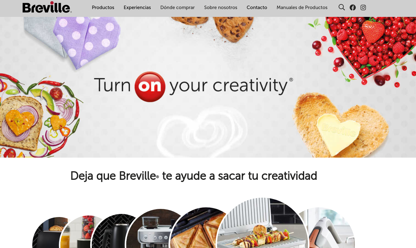 Breville estrena nueva web