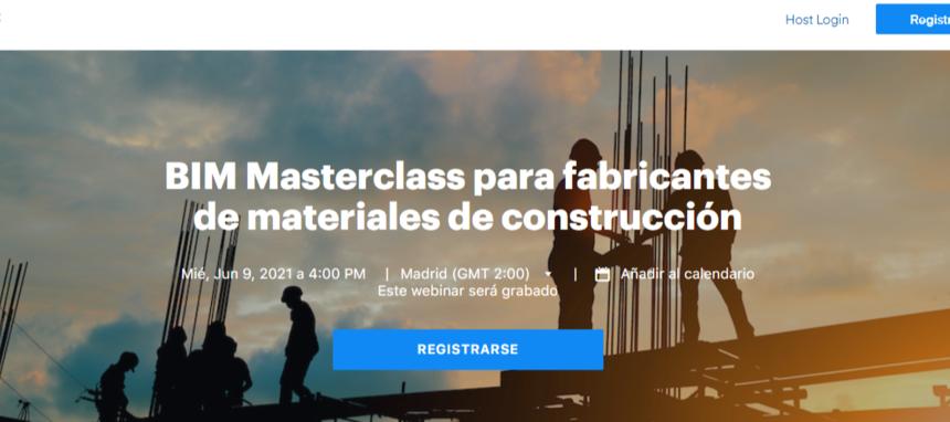 BIMobject organiza una masterclass sobre BIM para fabricantes de la construcción