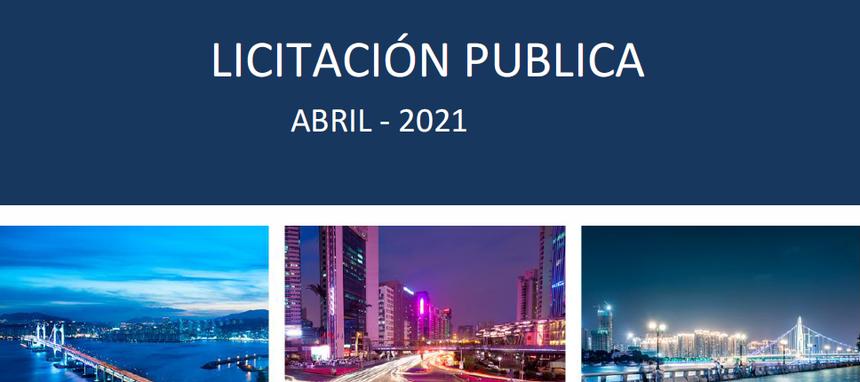 La obra pública acelera en 2021 y en abril logra el mejor registro de la última década