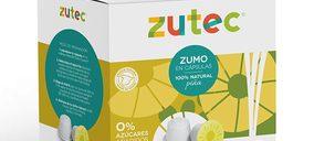 Zutec abre paso a una nueva categoría: los zumos en cápsulas