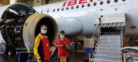 DHL gestionará la logística interna de componentes para Iberia Mantenimiento