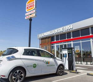 RBIberia instalará en sus restaurantes puntos de recarga de vehículos eléctricos con el apoyo de Iberdrola