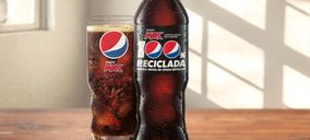 Toda la gama 'Pepsi' se envasa ya en plástico 100% reciclado