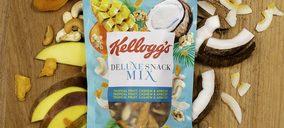 Kellogg aumenta su presencia en snacks con su primera gama de frutos secos