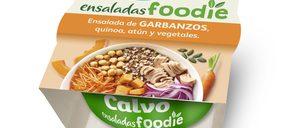 Calvo innova en ensaladas con su gama Foodie
