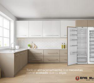 EAS presenta su nuevo congelador y refrigerador integrable