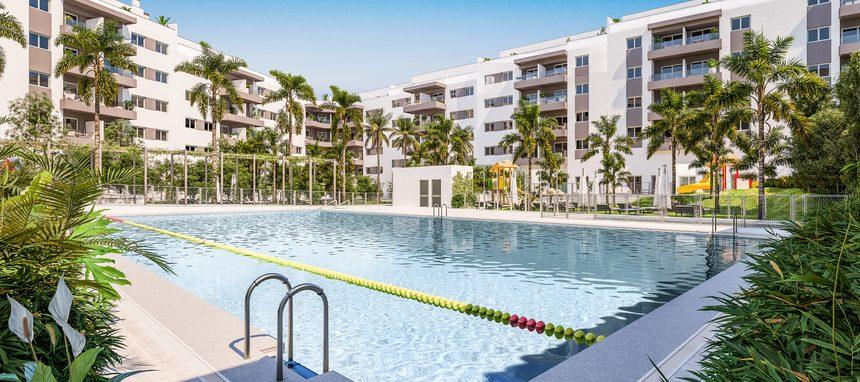 Brosh desembarca en la Costa del Sol con su primera promoción de 400 viviendas