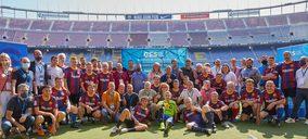Grupo Electro Stocks celebra jornada deportiva en el Camp Nou