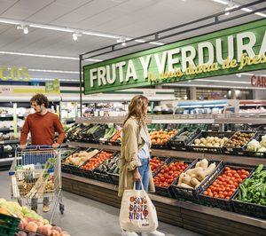 Aldi incrementó casi un 24% su venta de productos frescos en 2020