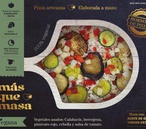 Las pizzas Más que masa irrumpen con fuerza en la distribución española