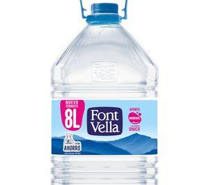 Font Vella lanza una garrafa de 8 l para ampliar su oferta de formatos ahorro