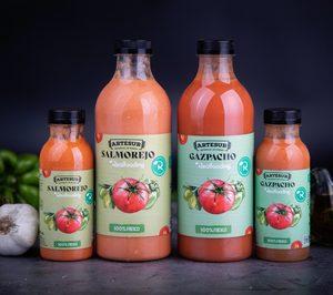 Novavegetal aumentará un 45% su volumen de gazpacho con Artesur Realfooding