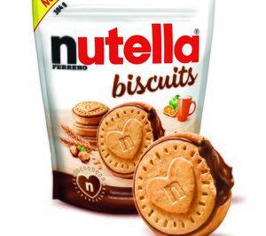 Ferrero Ibérica trae a España las galletas Nutella