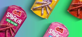 Campofrío testa nuevas propuestas en snacks para reafirmar su liderazgo