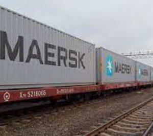 Maersk estrena tren entre Madrid y China